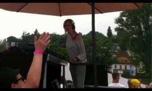 Sophie Nixdorf @ Palazzo Boot Pink Revolution 02.06.12