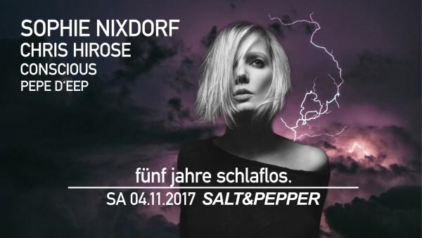 5 Jahre Schlaflos Sophie nixdorf Salt n Pepper Pforzheim